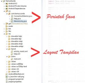 Cara Membuat Aplikasi Kamus Sunda for Android plus Source Kode